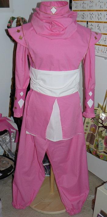 Power Ranger Pink Ninjetti -WIP by Greenhorngal
