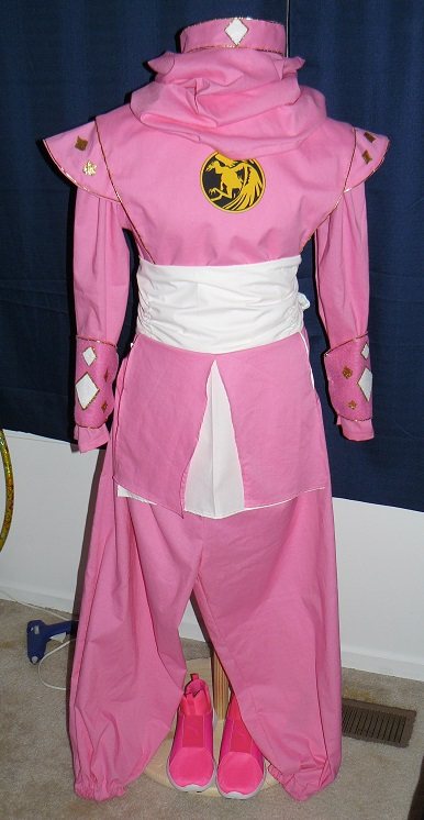 Pink Ninjetti - finished by Greenhorngal