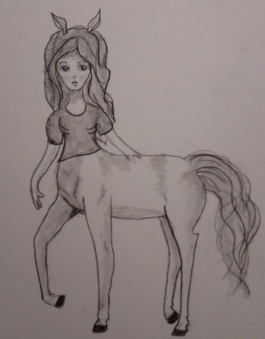 Centaur girl by Greenhorngal