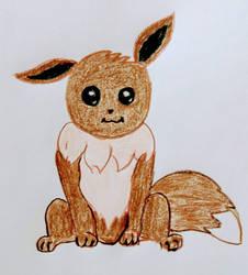 Eevee my favorite pokemon