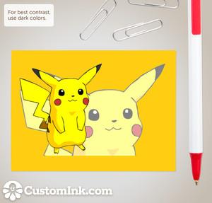Pika Sticky Notes by Wiivolution2