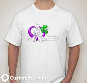 Another Custom Fan Art shirt for livinlovindude by Wiivolution2