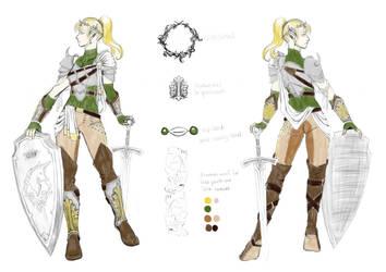 Final Fantasy XIV Tank Gear Contest by AerithReborn