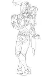 TAZ: Balance - Taako (concept sketch) by AerithReborn