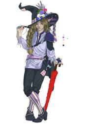 TAZ: Balance - Taako (color sketch) by AerithReborn