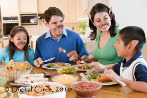 Family Dinner by digitalcirce