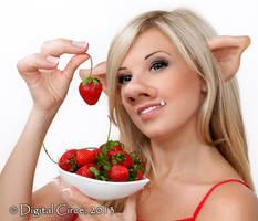 Strawberry Blonde by digitalcirce