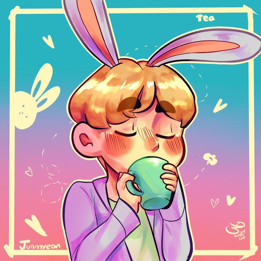 Honey Tea! by Reisen-chan2002