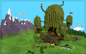 Adventure Time - Treefort in Minecraft by Notux