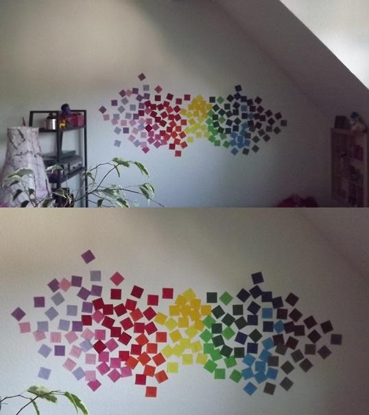 wanddeko origami by jorigrafix on deviantart. Black Bedroom Furniture Sets. Home Design Ideas