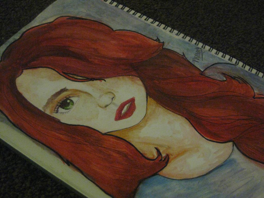 watercolour Angetine by IndigoSparkles