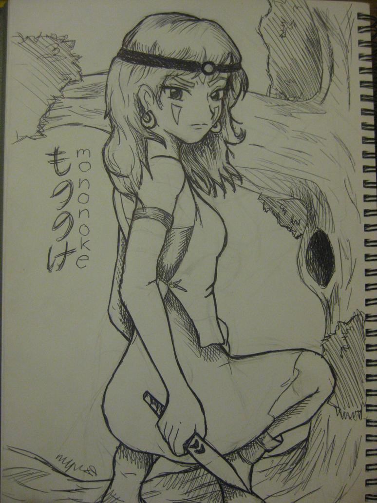 Princess Mononoke by IndigoSparkles