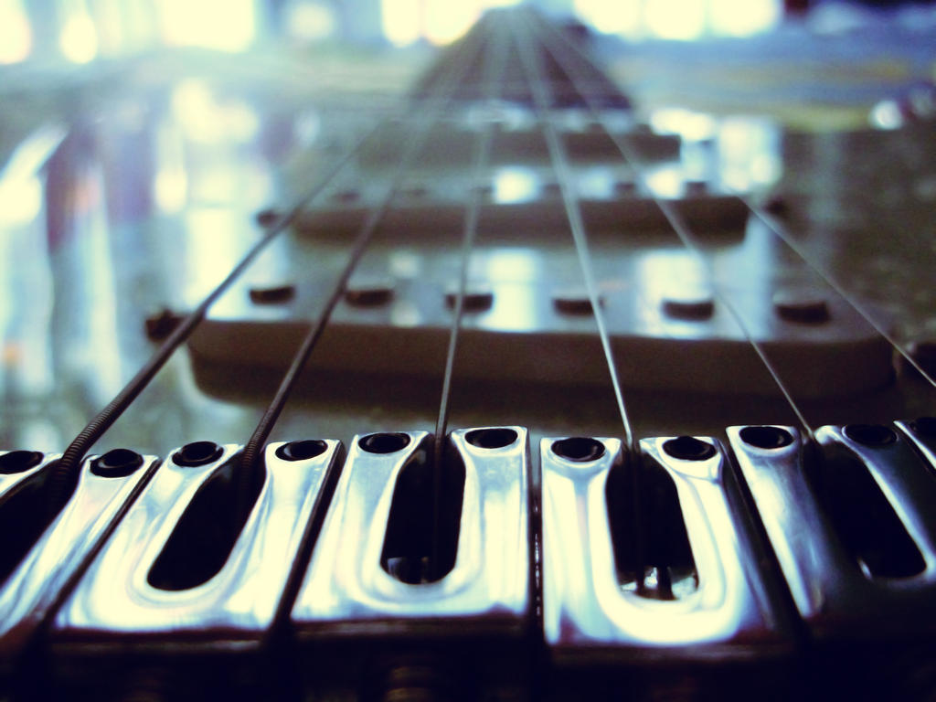 Guitar Bridge by VirtualDistortion