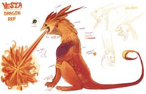 Vesta - Dragon by kiwi-seed