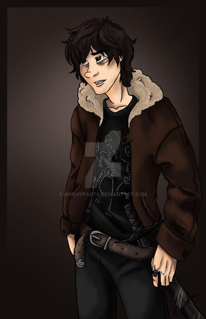Nico Di Angelo by moSHypants on DeviantArt