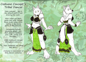 Costume Concept 1 by LuthienNightwolf