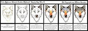 Color Ref Sheet 1 - Face