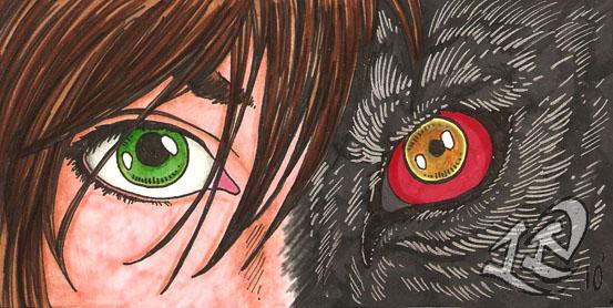 David's Eyes by LuthienNightwolf