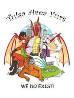 Tulsa Area Furs Tshirt Design by LuthienNightwolf