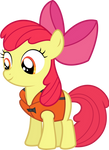 Safety first - Apple Bloom Wearing a Life Jacket