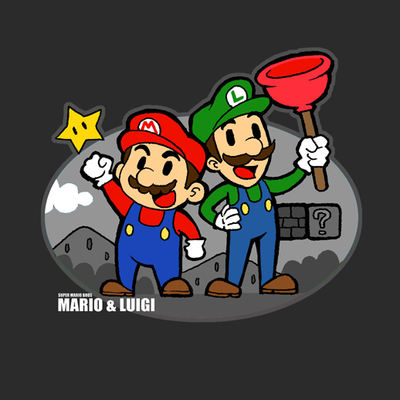 mario and luigi pictures. Mario and Luigi by ~ShandyRp