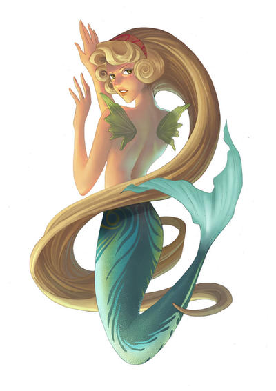 Blonde Mermaid 31
