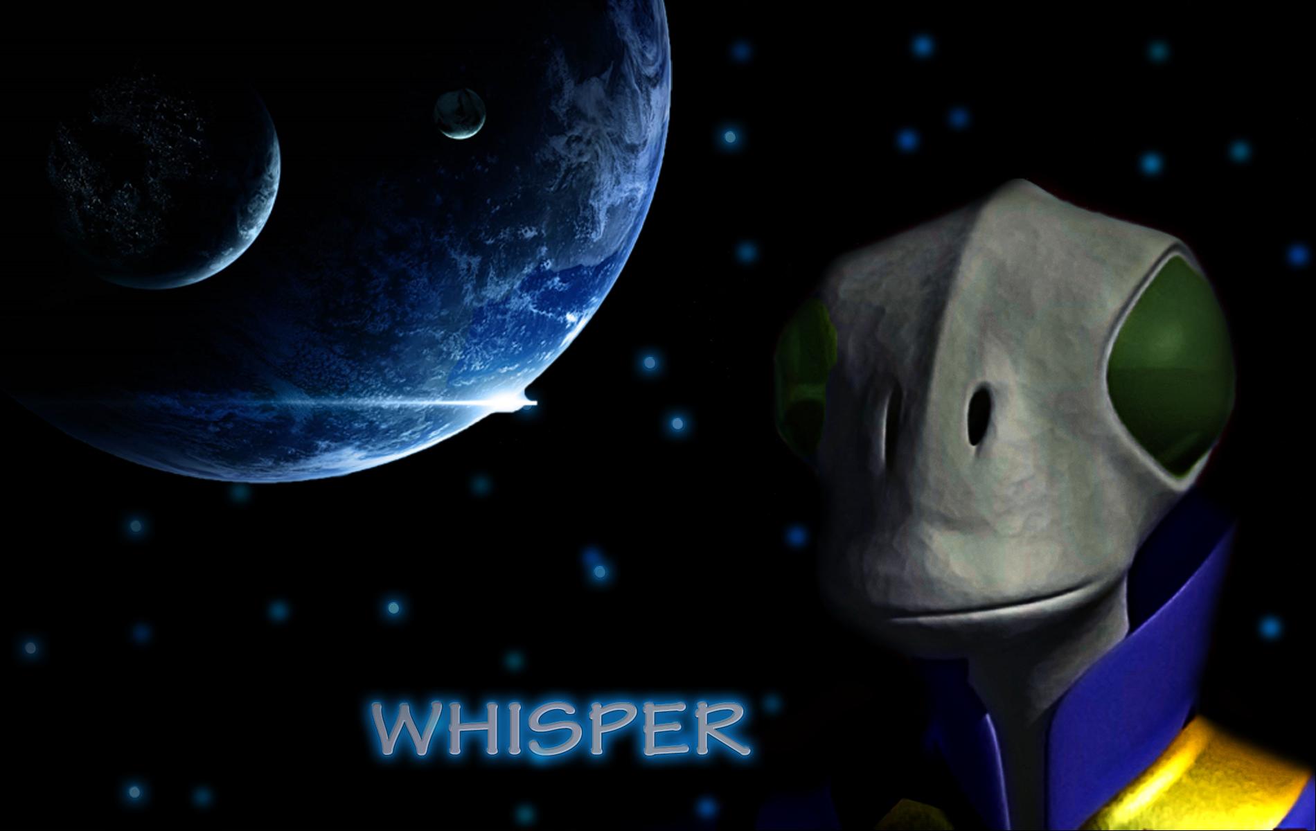 whisper logo by dzemobeg on deviantart