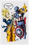 Goku Vs Captain America