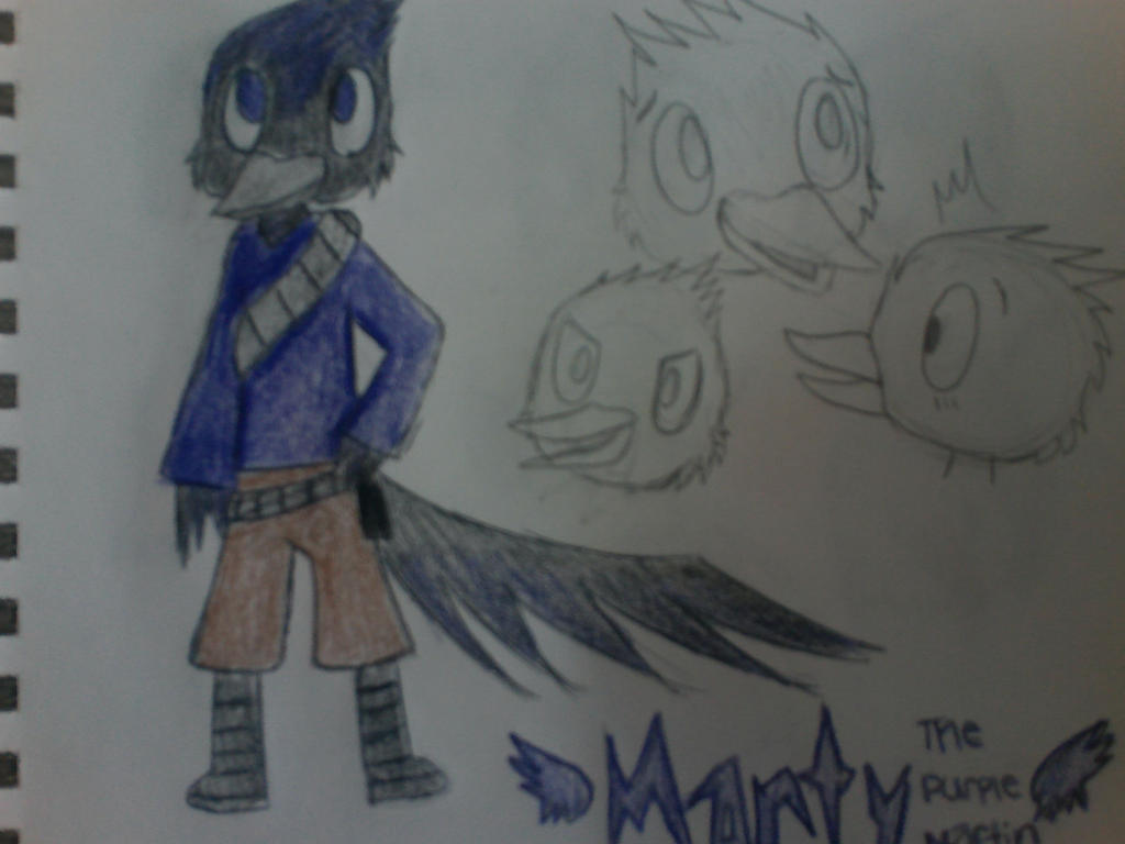 Colored Marty Ref, yay!! by Lombaxpuppy