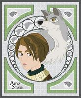 Arya Stark by smallsqueaktoy
