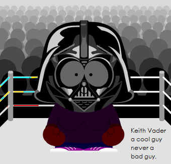 Keith Vader A Cool Guy Not A Bad Guy. by boxingglovehands