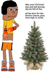 Jose Celebrates Christmas
