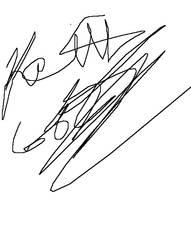 It's My Autograph........ Kewl.