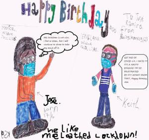 Pandemic Birthday Jose Ramiro
