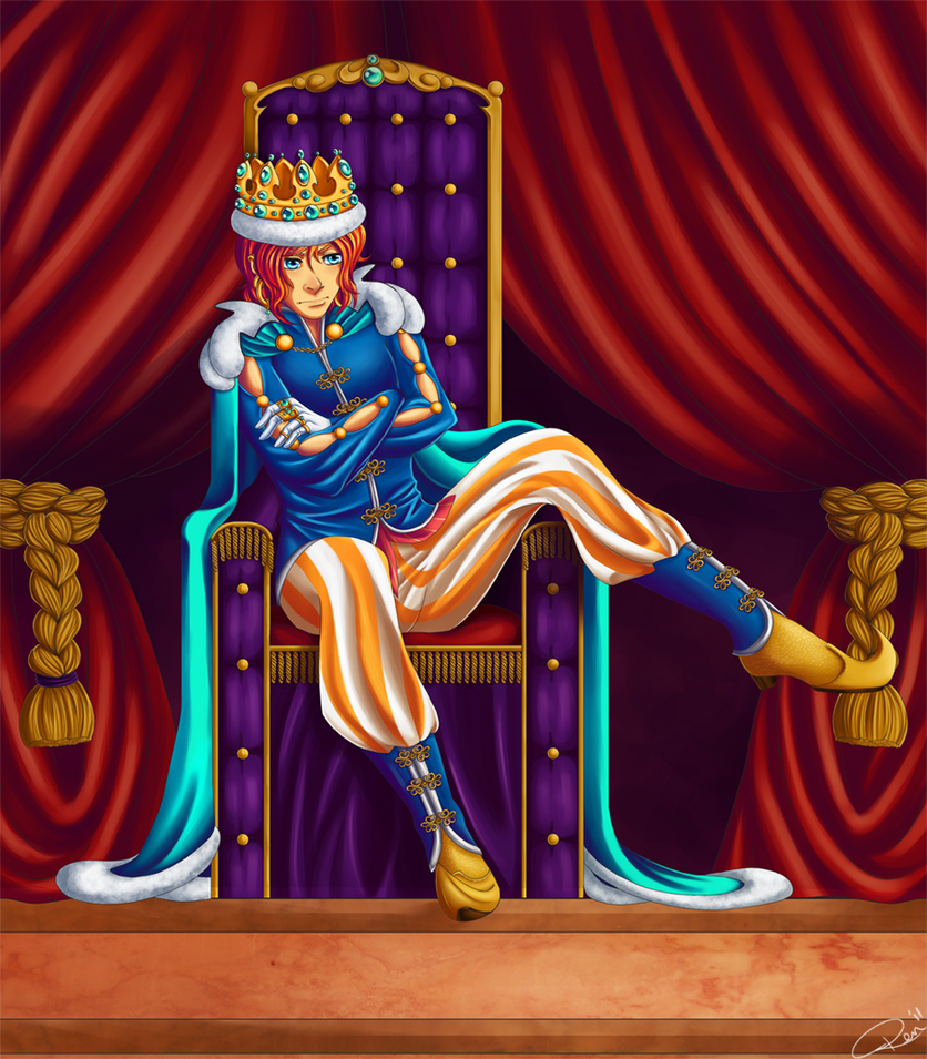 The Bored Prince Skribble by AerianR