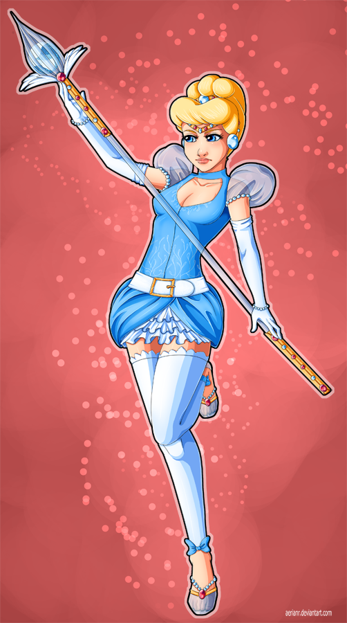 Queen's Crown - Cinderella by AerianR