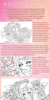 Lineart Tutorial by AerianR