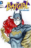 Batgirl Blank Variant by AerianR