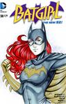 Batgirl Blank Variant
