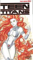 Teen Titans Starfire by AerianR