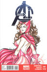 Scarlet Witch blank cover