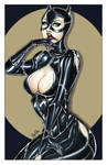 Catwoman Print - Colored