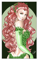 Poison Ivy print - Colored by AerianR
