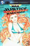 Starfire bikini cover