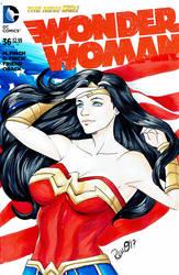 Patriotic Wonder Woman by AerianR