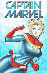 Captain Marvel by AerianR
