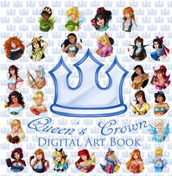 Queen's Crown digital art book~