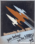 Rocket Recruitment Poster