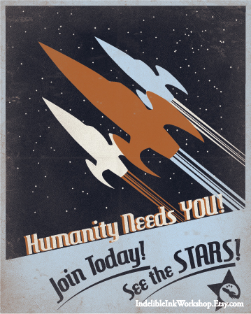 Image result for star trek recruitment posters