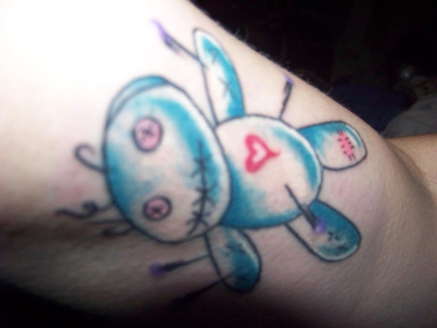 VooDoo Doll Tattoo by piercedpinup